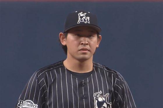 先発したオリックス・宮城大弥【画像:パーソル パ・リーグTV】