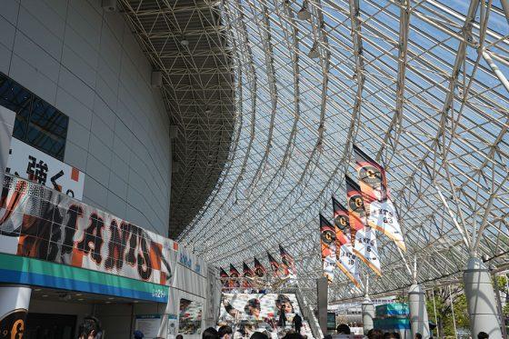 東京ドームの2試合、神宮の3試合が延期に【写真:荒川祐史】