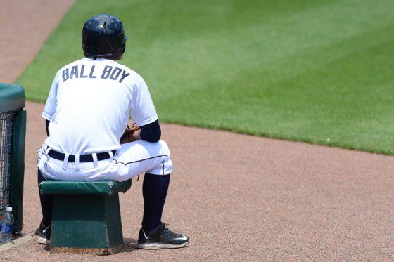 強烈なライナーを必死に避けるボールボーイが話題に(写真はイメージ)【写真:Getty Images】