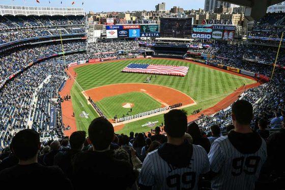 ヤンキースの本拠地ヤンキースタジアム【写真:Getty Images】