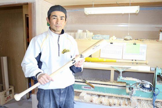 2003年に全日本クラブ野球選手権で優勝した金野健司氏【写真:石川加奈子】