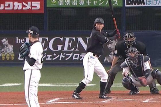 阪神で活躍した2人がパ・リーグの舞台で対決【画像:パーソル パ・リーグTV】