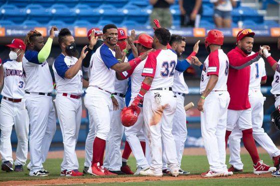 ニカラグアに勝利したドミニカ代表【写真:ロイター】