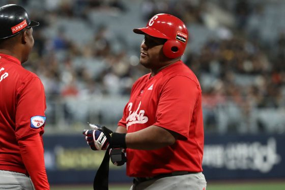 キューバ代表のアルフレド・デスパイネ【写真:Getty Images】