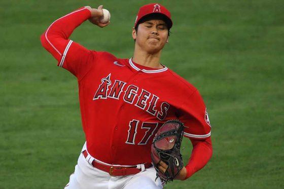 メジャー移籍初の無四球投球で2勝目を挙げたエンゼルス・大谷翔平【写真:Getty Images】