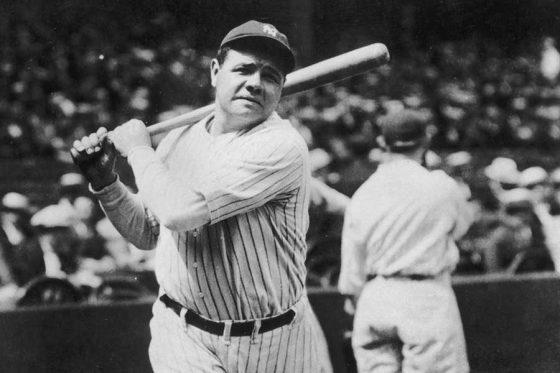 ヤンキースなどで活躍したベーブ・ルース【写真:Getty Images】