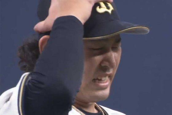巨人戦に先発したオリックス・宮城大弥【画像:パーソル パ・リーグTV】