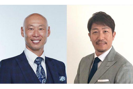 森本稀哲さん(左)と多村仁志さん【画像:パ・リーグ インサイト】