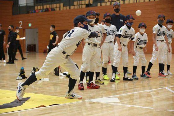 12日に行われた「Baseball5」体験イベントの様子【写真:編集部】