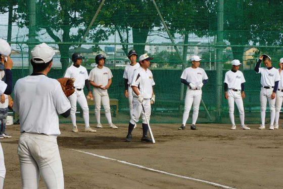 春季高校野球静岡県大会を制した藤枝明誠【写真:間淳】