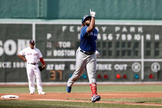 20号本塁打を放ったブルージェイズのブラディミール・ゲレーロJr.【写真:ロイター】