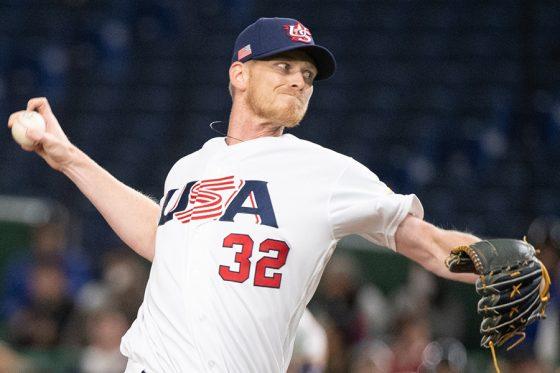 米国代表としてプレーするブランドン・ディクソン【写真:Getty Images】