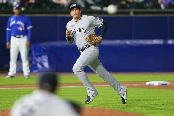 ヤンキースのジオ・ウルシェラ【写真:AP】