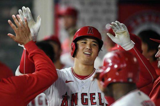 1試合2本塁打を放ったエンゼルス・大谷翔平【写真:Getty Images】