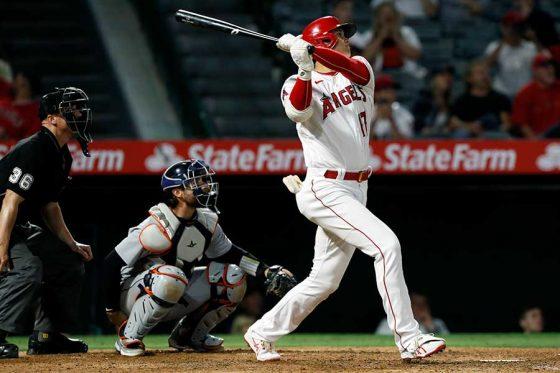 自身2年ぶりの1試合2本塁打を記録したエンゼルス・大谷翔平【写真:AP】