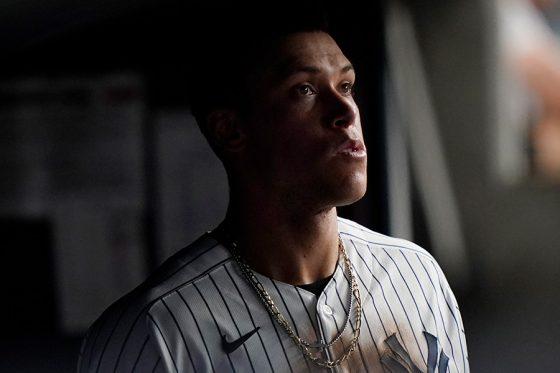 ヤンキースのアーロン・ジャッジ【写真:AP】