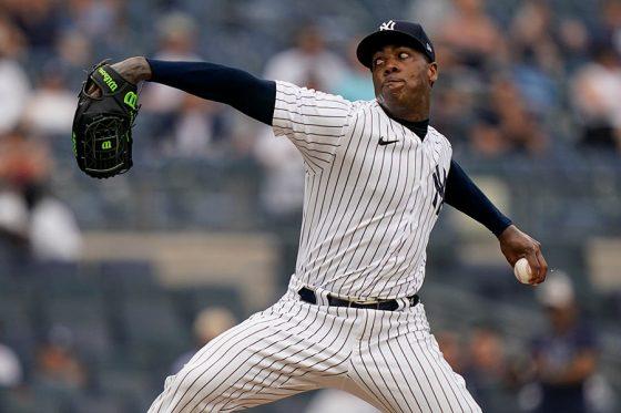 ヤンキースのアロルディス・チャップマン【写真:AP】
