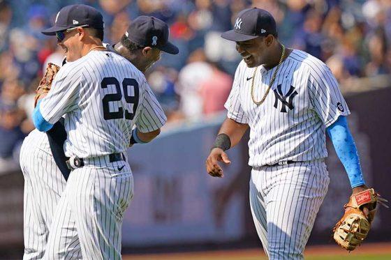 ヤンキースが今季3度目のトリプルプレーを決めて勝利した【写真:AP】