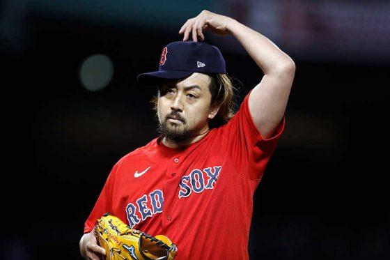 ヤンキース戦に登板したRソックス・澤村拓一【写真:AP】