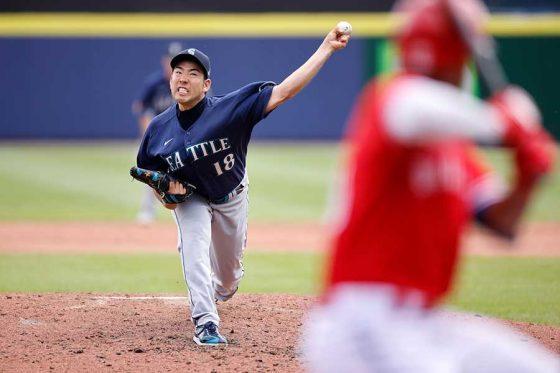 Bジェイズに先発し6勝目を挙げたマリナーズ・菊池雄星【写真:Getty Images】