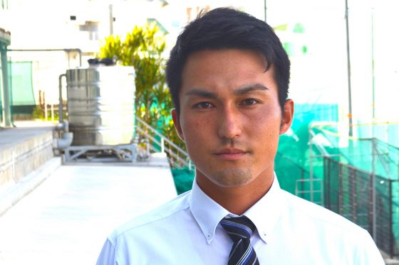 興南のコーチに就任した島袋洋奨氏【写真:松永多佳倫】