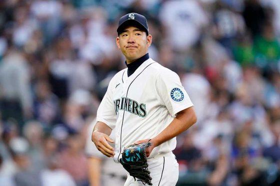 ヤンキース戦に先発したマリナーズ・菊池雄星【写真:AP】