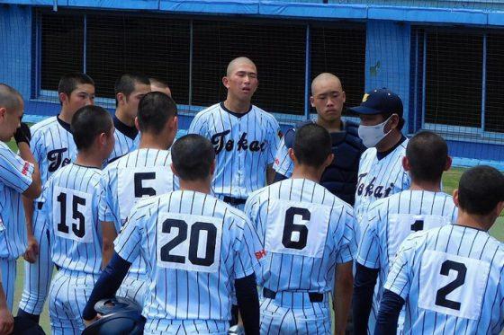 原俊介監督が率いる東海大静岡翔洋は3-0で裾野に勝利【写真:間淳】