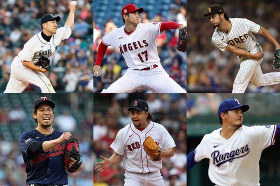 今季はここまで計6人の日本人投手がメジャーで登板【写真:Getty Images】