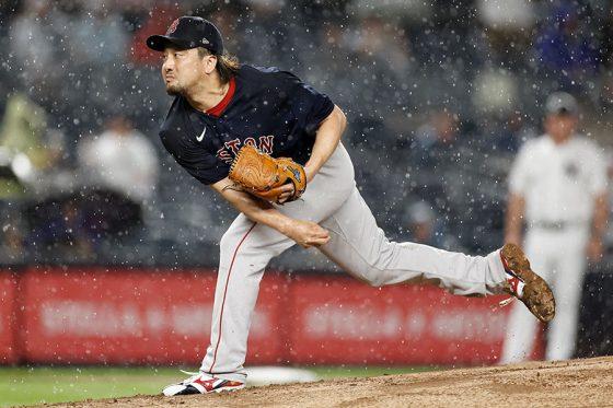 ヤンキース戦に登板したレッドソックス・澤村拓一【写真:Getty Images】