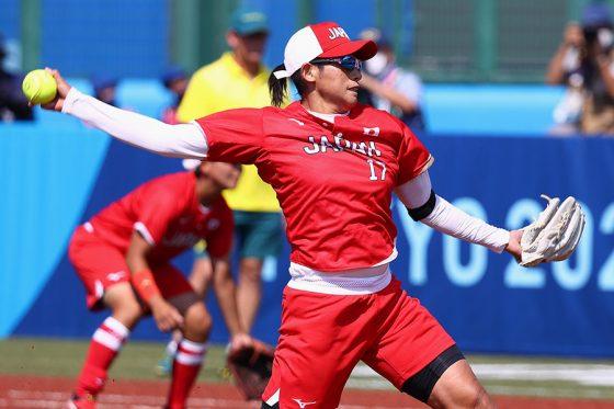 ソフトボール日本代表・上野由岐子【写真:AP】