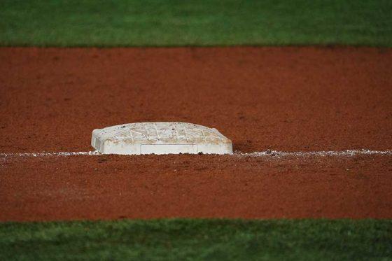 3Aの試合で一塁手のハッスルプレーが誕生