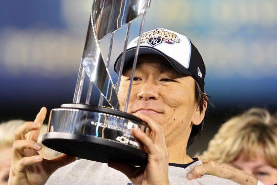 2009年ワールドシリーズMVPに輝いた松井秀喜氏【写真:Getty Images】