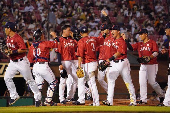 日本代表が巨人に5-0で勝利した【写真:荒川祐史】