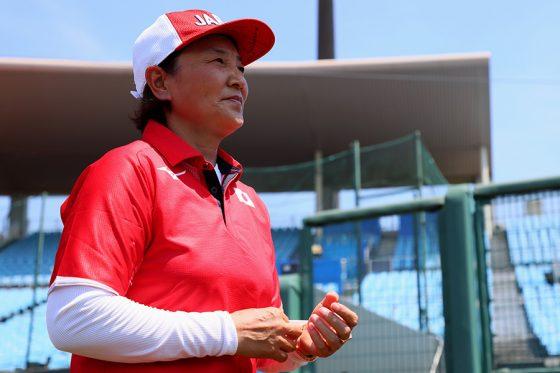 ソフトボール日本代表・宇津木ヘッドコーチ【写真:Getty Images】