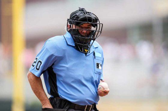 MLBのトム・ハリオン審判員【写真:Getty Images】