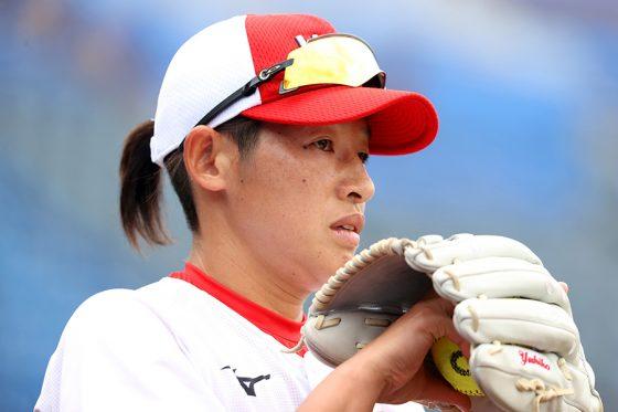 ソフトボール日本代表・上野由岐子【写真:Getty Images】