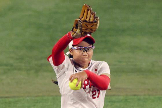 ソフトボール日本代表・後藤希友【写真:Getty Images】