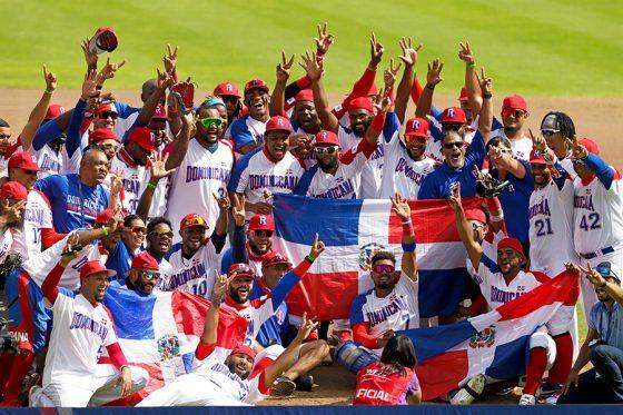 世界最終予選を制したドミニカ共和国代表【写真:Getty Images】