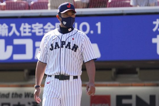 侍ジャパン・稲葉篤紀監督【写真:荒川祐史】
