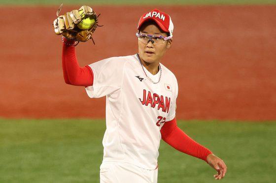 ソフト日本代表・後藤希友【写真:Getty Images】