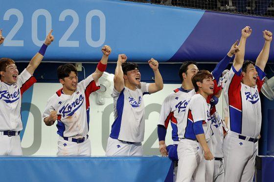 イスラエル代表にサヨナラ勝ちした韓国代表【写真:Getty Images】