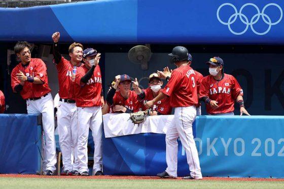 横浜スタジアムでメキシコと対戦している侍ジャパン【写真:Getty Images】