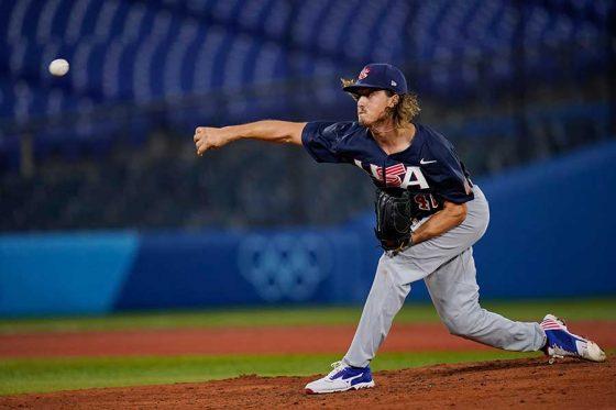 野球米国代表のジョー・ライアン【写真:AP】
