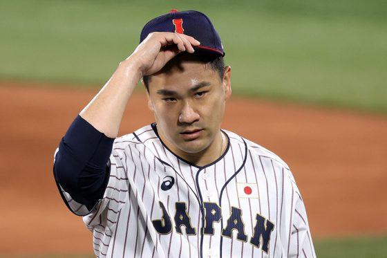 米国戦に先発した侍ジャパン・田中将大【写真:Getty Images】