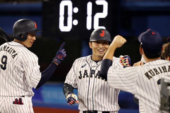 米国代表に逆転勝ちした侍ジャパン【写真:Getty Images】