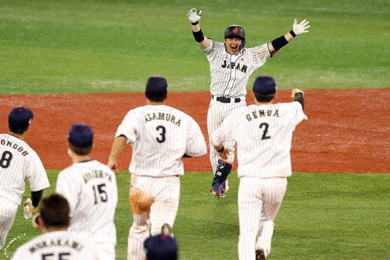 米国にサヨナラ勝ちした侍ジャパン【写真:Getty Images】
