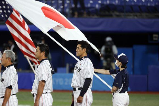 韓国代表と対戦する野球日本代表「侍ジャパン」【写真:Getty Images】
