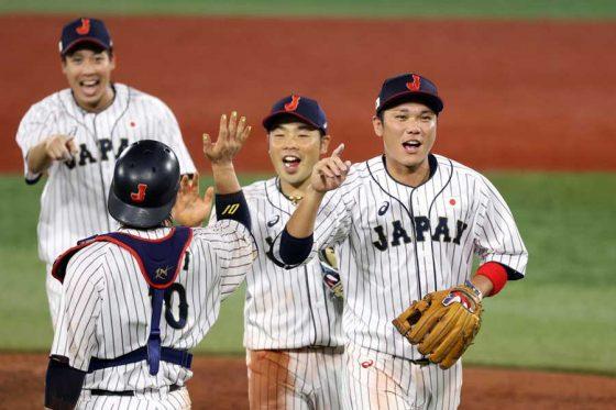 韓国に勝利し決勝進出を決めた野球日本代表「侍ジャパン」【写真:Getty Images】