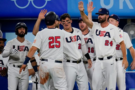 準決勝で米国代表が韓国代表を下し決勝進出を決めた【写真:AP】