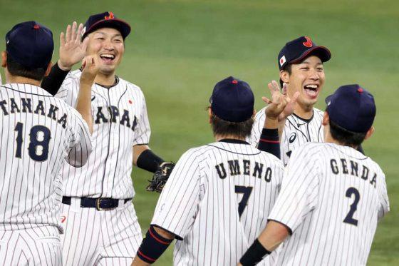 準決勝の韓国戦に勝利し7日の決勝に進んだ侍ジャパン【写真:Getty Images】